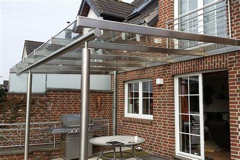 vordach terrasse gro 223 es vordach f 252 r terrasse nappenfeld edelstahl