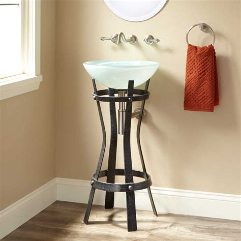 bathroom sink stand marius wrought iron sink stand pedestal sinks bathroom