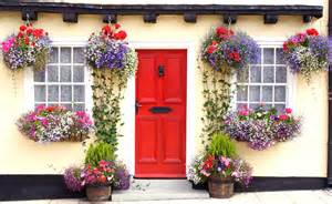 hanging window box planters cottage window box ideas