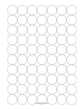 printable paper with circles printable graph paper spaced circles