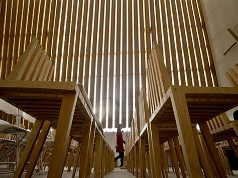 Home New Zealand Architecture Design And Interiors House Of Card Shigeru Ban S Christchurch Cathedral