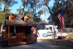 backyard clubhouses make a wish completes cancer patient s backyard clubhouse