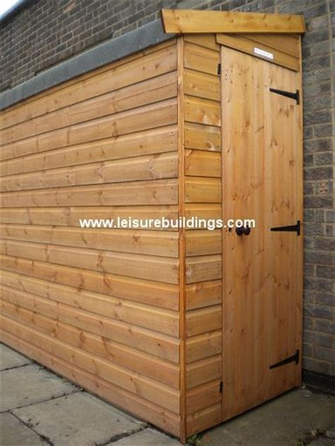 Thin Shed 12ft X 3ft Streamline Narrow Shed In T Shiplap Cladding