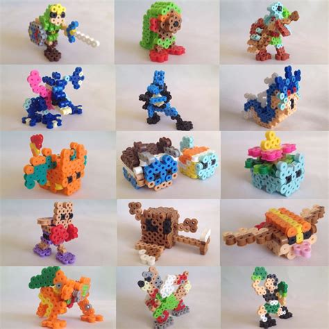 perler 3d ideas 3d perler bead by xaveric on deviantart