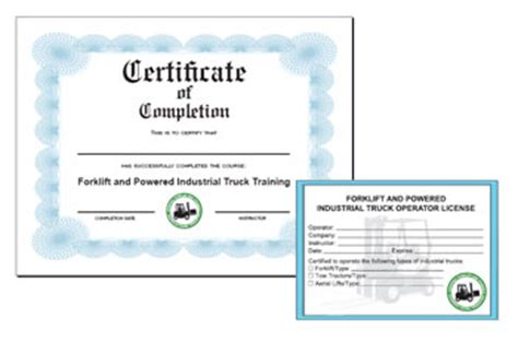 free forklift certification card template forklift certification card pdf secrets and
