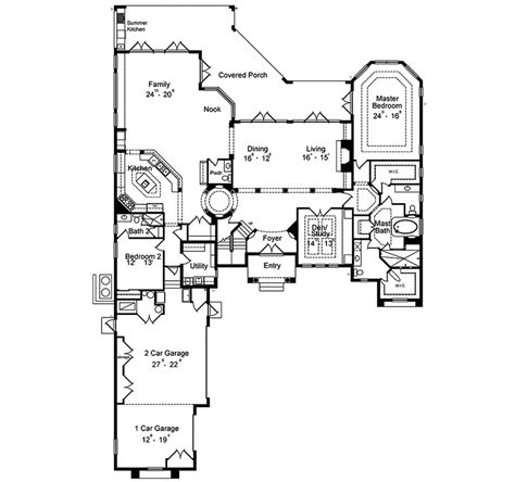 southwestern floor plans pipkin southwestern home plan 047d 0072 house plans and more
