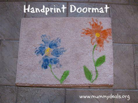 Doormat Deals Doormat Mothers Day Craft For Handprint Mat Mummy
