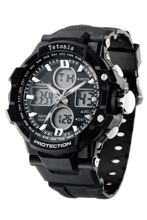 Tetonis Original Dual Time Ts64 2 clearance sale jam tangan sport tetonis original 4 type