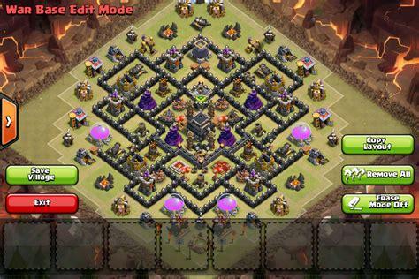 latest clash of clans th9 base layouts war clans th9 war base ozunitedelite