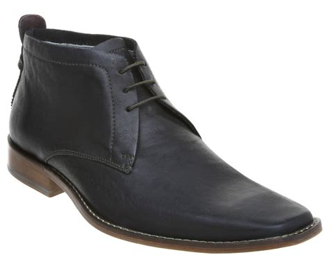 ted baker boots mens ted baker ashcroft formal lace boots in black for lyst