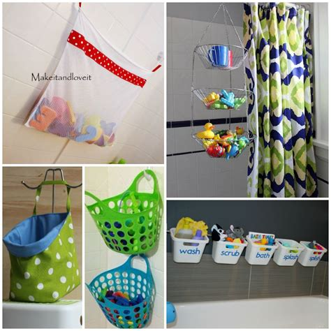 bathtub toy 15 ways to store bath toys and magically declutter your