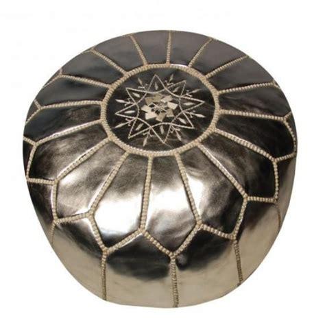 moroccan leather pouf ottoman 10 cute poufs design sponge