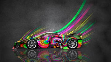 colorful cars car tony kokhan colorful wallpapers hd