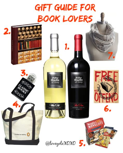 gift for lover gift ideas for book