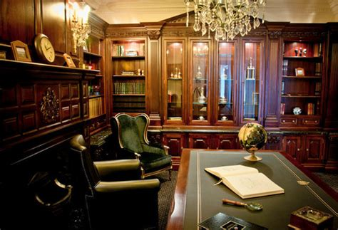 display antiqued mahogany clive christian regency study