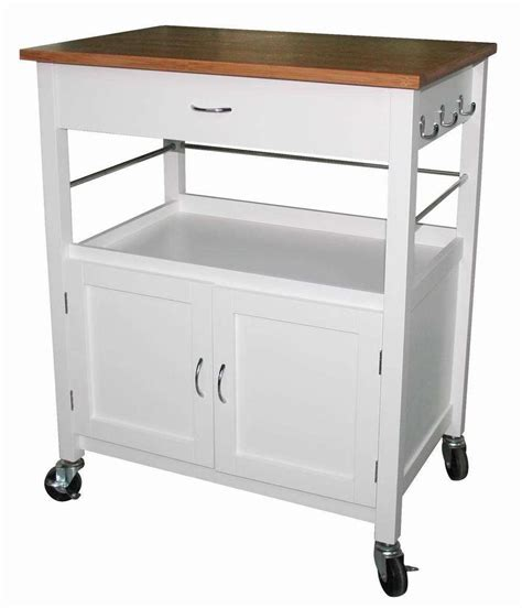 Kitchen Carts And Islands Ehemco Kitchen Island Cart Butcher Block Bamboo Top Ebay