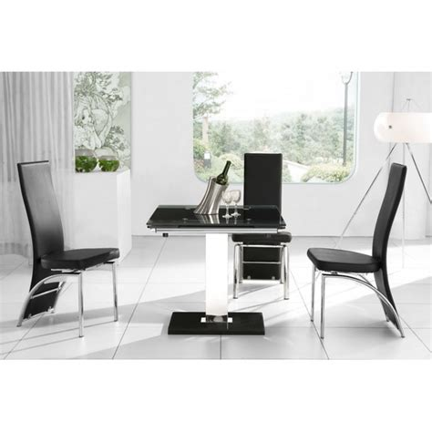 212 modern furniture nitro extendable dining table with 4 d212 dining chairs