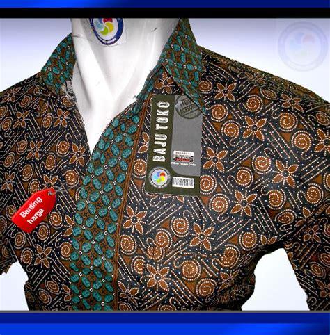 Baju Resmi Kantor Kuliah jual coklat sjhm13 1108 baju batik hem kemeja batik seragam batik kerja batik kantor pernikahan