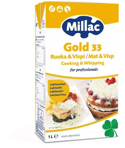 Whipping Milac Gold 1l millac gold 1l cooking whipping 33 lactosefree blend of