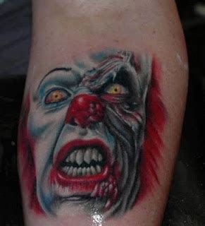 tattoo blog 187 clown tattoo pictures here there everywhere best clown tattoos design