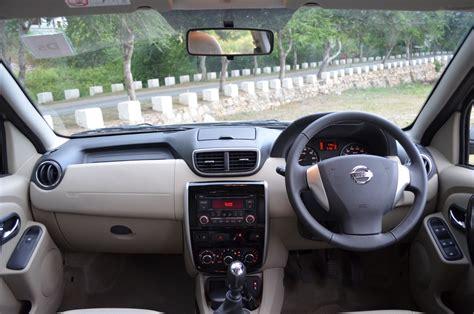 nissan terrano india interior nissan terrano dashboard indian autos blog