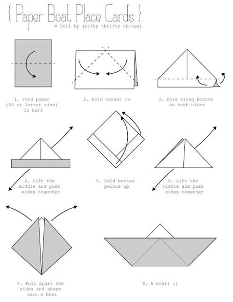 how to make a paper boat with a4 how to make an origami boat with a4 paper vic party