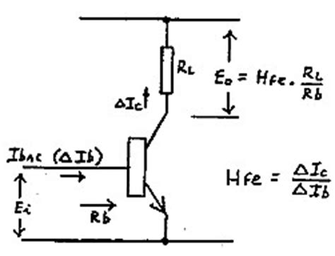 transistor lifier power gain the transistor as a voltage lifier