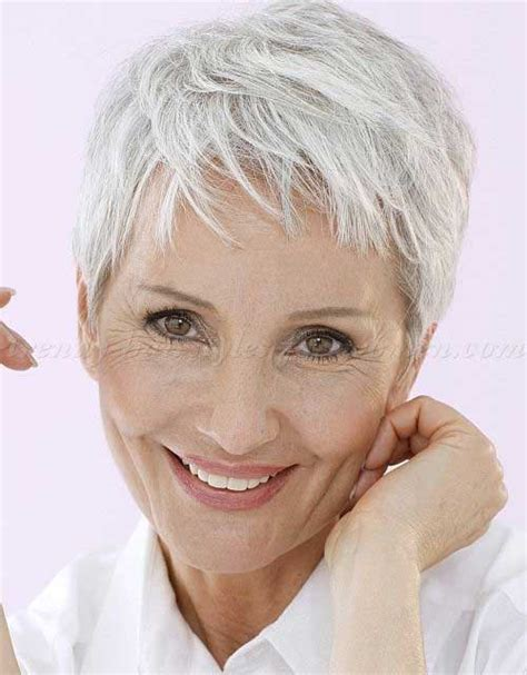 hairstyles for thin hair over 30 short pixie haircuts for women over 50 wow com image