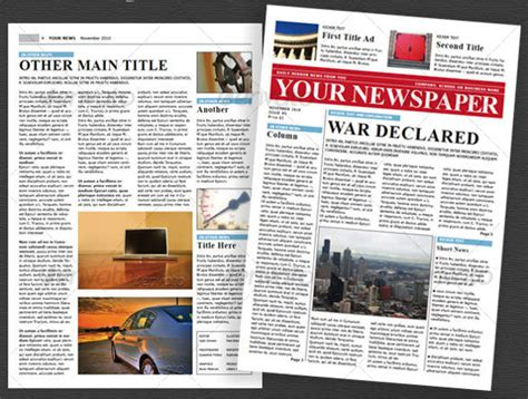 newspaper layout software free download 8 school newspaper templates free sle exle