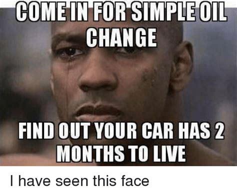 simple oil change find   car