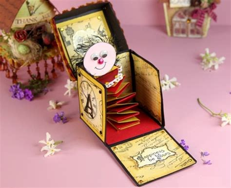 handmade card box template 138 best cricut explosion box images on