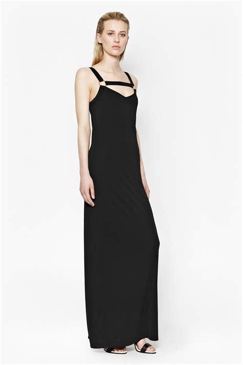 Dress Monna mona crepe strappy maxi dress dresses connection