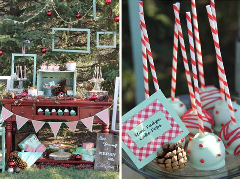 party themes holiday kara s party ideas winter mint holiday christmas dessert