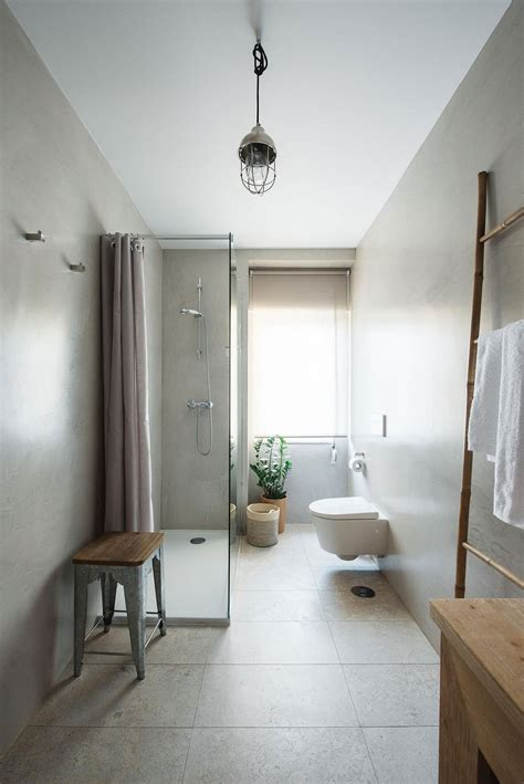 superior Small Apartment Living Room Decor #4: Stylish-Scandinavian-bathroom-filled-with-ample-natural-light.jpg