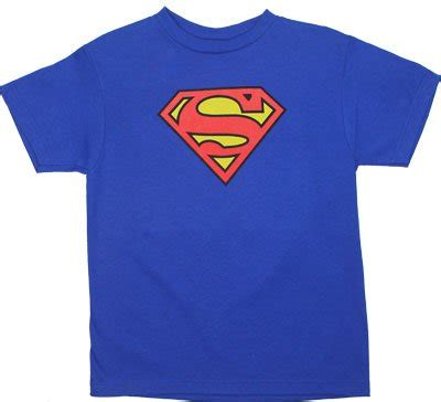 superman logo dc comics youth t shirt marvel collection