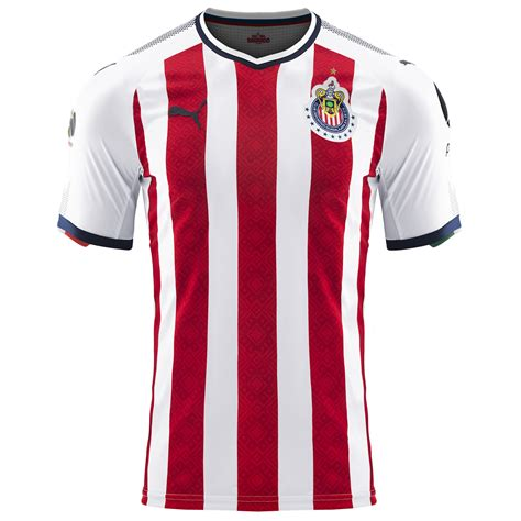 T Shirt Chivas 01 chivas home promo jersey 2017 18 soccer premier