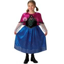 Licensed frozen anna elsa fancy dress up amp wig disney princess