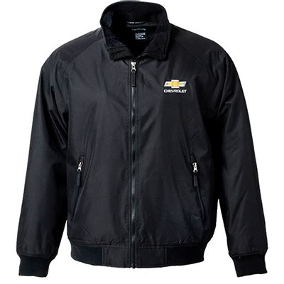 chevrolet mens heavyweight jacket chevymall