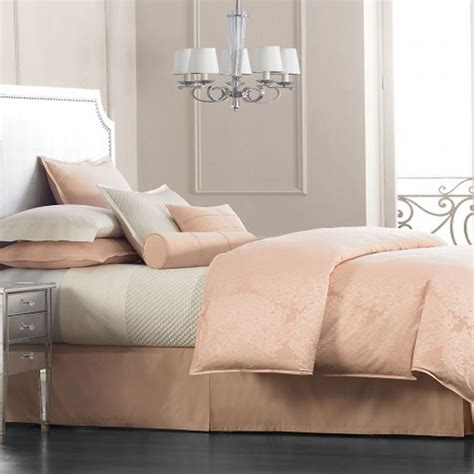 dusty rose bedding hotel collection salon dahlia full queen duvet cover dusty