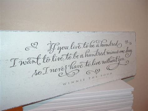 shabby modern chic winnie the pooh quote plaque sign wowthankyou co uk