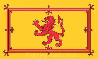 Vango Awnings Royal Flag Of Scotland Lion Rampant