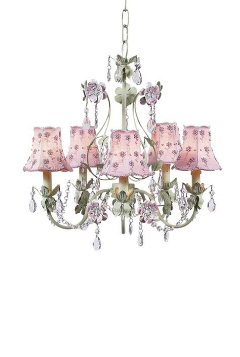 the pink chandelier pink pearl chandelier shades on the pink green 5