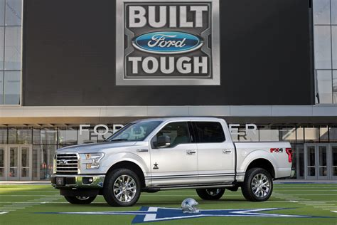 cowboy ford ford introduces limited edition dallas cowboys f 150