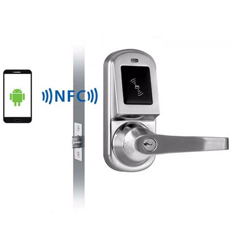 phone locks for android android smartphone nfc smart door lock for hotel office or apartment os8015nfc in locks from