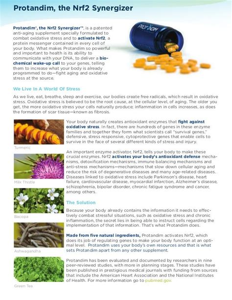 Protandim Detox Symptoms by Protandim Reduces Oxidative Stress On An Average Of 40