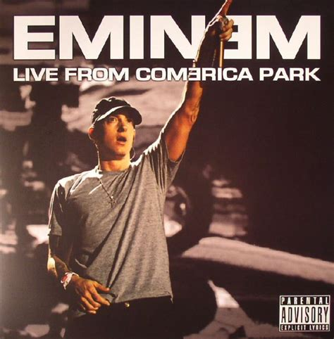 eminem live eminem live from comerica park vinyl at juno records
