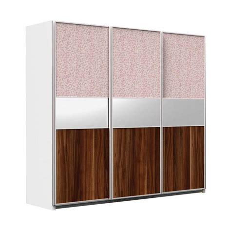 Lemari Es Jawa Tengah jual fcenter wda 3 sliding 3 pintu lemari pakaian jawa