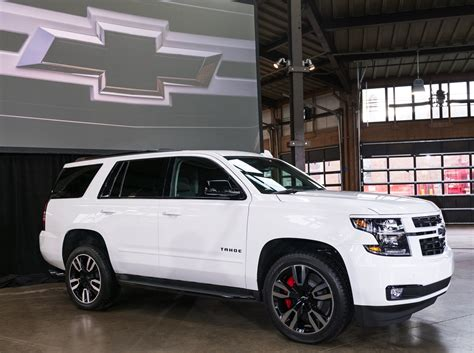 tahoe rst is a size chevrolet suv packing 420 hp
