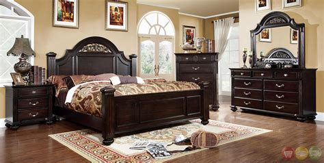 dark wood bedroom sets syracuse traditional dark walnut bedroom set with sturdy