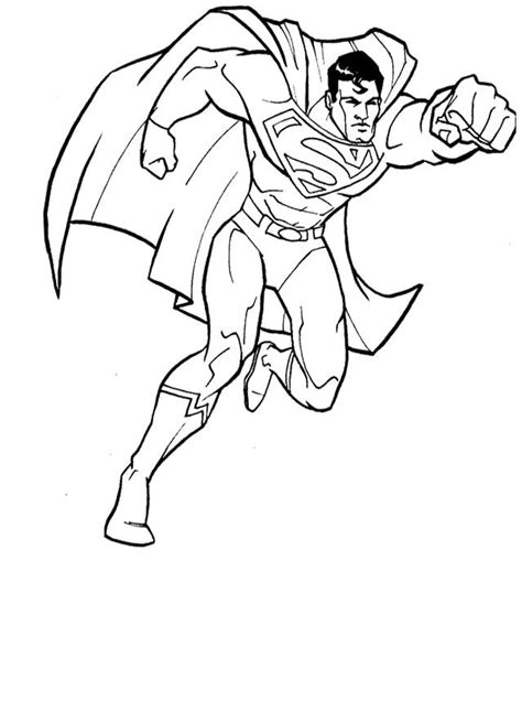 superman coloring pages  printable  print